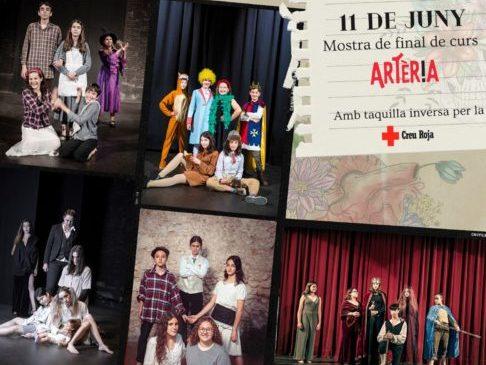 L'escola de teatre del Casal 'Artèria' porta a escena sis obres teatral de final de curs