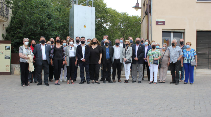 Torrelavit inaugura la restauració del Pont de les Escoles en el Centenari del poble