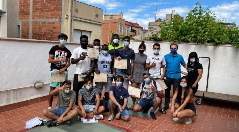 18 joves de la comarca han participat a la 8a edició del programa Forma't