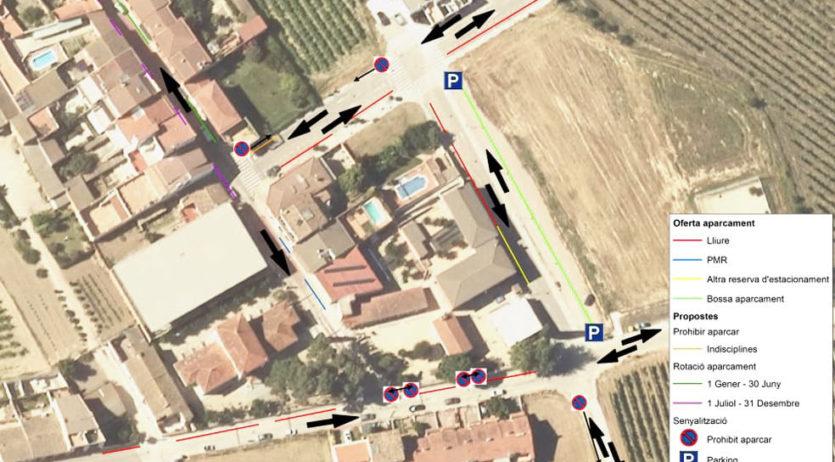 La Diputació realitza un estudi sobre el trànsit i zones d'aparcament de la Granada