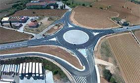 Tres municipis de l'Alt Penedès finalitzen les obres de millora dels seus polígons industrials