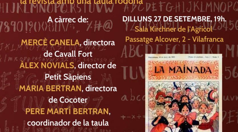 Les revistes infantils en català a debat al centre L'Agrícol