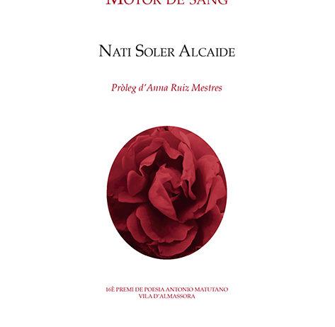 Nati Soler presentarà el nou poemari 'Motor de sang' a L'Agrícol