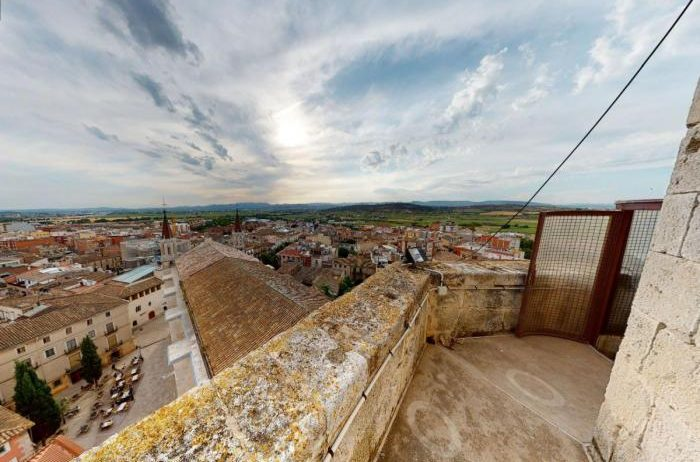 El campanar de Santa Maria de Vilafranca es podrà recórrer mitjançant una reproducció 3D